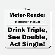 Meter-Reader Mousepad