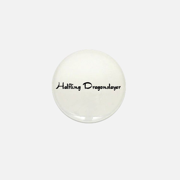 Halfling Dragonslayer Mini Button