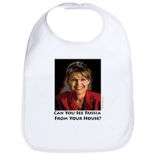 Sarah Palin Can You See Russia Bib