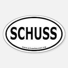 Schussbaumer Oval Stickers