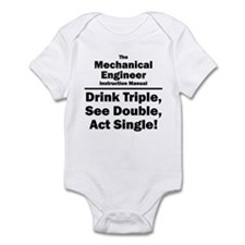 Mechanical Engineer Infant Bodysuit
