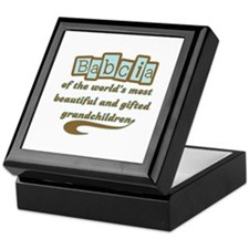 Babcia of Gifted Grandchildren Keepsake Box