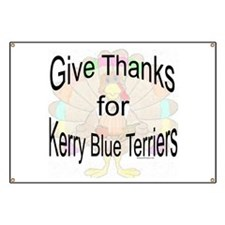 Thanks for Kerry Blue Banner