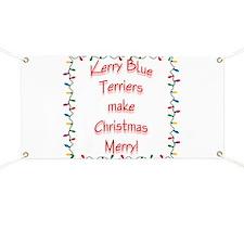 Merry Kerry Blue Banner