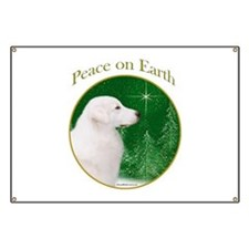 Kuvasz Peace Banner