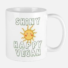 Shiny Happy Vegan Mug