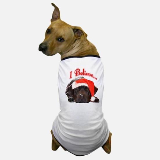 Lab I Believe Dog T-Shirt