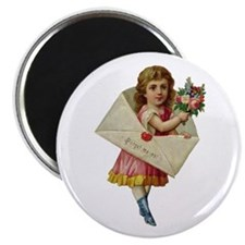 Envelope Girl Magnet