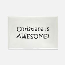 Funny Christiana Rectangle Magnet