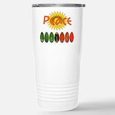 Kwanzaa Peace Shirts Travel Mug