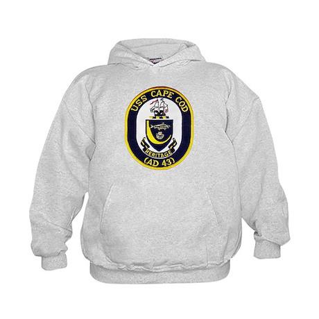 USS CAPE COD Kids Hoodie