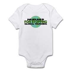 Nurses Stop Global Warming Infant Bodysuit