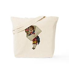 Envelope Boy Tote Bag