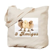 """3 Amigos"" chicks Tote Bag"