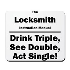 Locksmith Mousepad