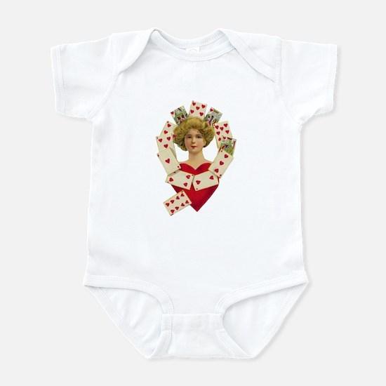 Queen of Heart Infant Bodysuit
