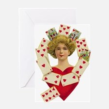 Queen of Heart Greeting Card