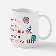 See Mia Vote Obama Mug