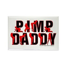 Pimp Daddy Rectangle Magnet