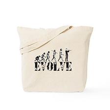Trumpet Evolution Tote Bag