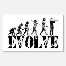 Trumpet Evolution Rectangle Decal