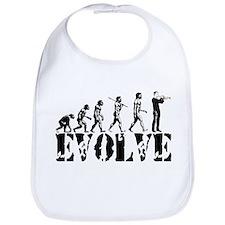 Trumpet Evolution Bib