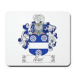 Nasi Family Crest Mousepad