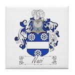 Nasi Family Crest Tile Coaster
