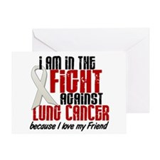 In The Fight 1 LC (Friend) Greeting Card
