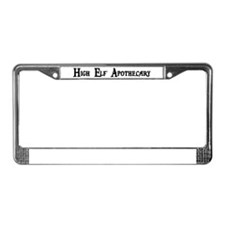 High Elf Apothecary License Plate Frame