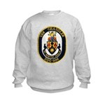 USS CHANDLER Kids Sweatshirt