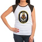 USS CHANDLER Women's Cap Sleeve T-Shirt