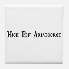 High Elf Aristocrat Tile Coaster