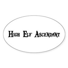 High Elf Ascendant Oval Decal