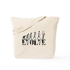 Sax Saxophone Evolution Tote Bag