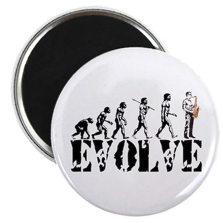 Sax Saxophone Evolution Magnet