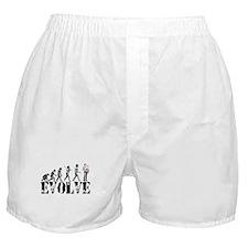 Sax Saxophone Evolution Boxer Shorts