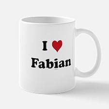 I love Fabian Mug
