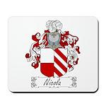 Nicola Family Crest Mousepad