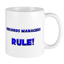 Records Managers Rule! Mug