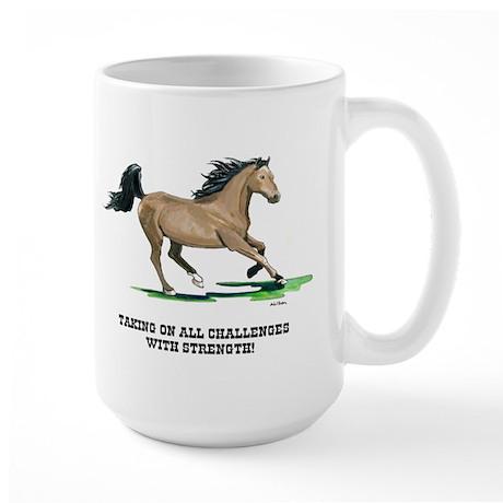Champion Horse Large Mug