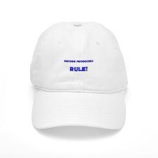 Record Producers Rule! Baseball Cap