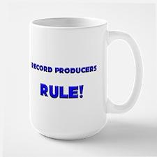 Record Producers Rule! Large Mug