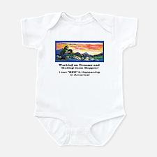 American Dreams Infant Bodysuit