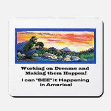 American Dreams Mousepad