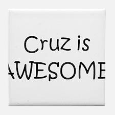 Cute Cruz Tile Coaster
