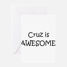 Cute Cruz Greeting Card