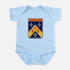 USS CHEVALIER Infant Creeper
