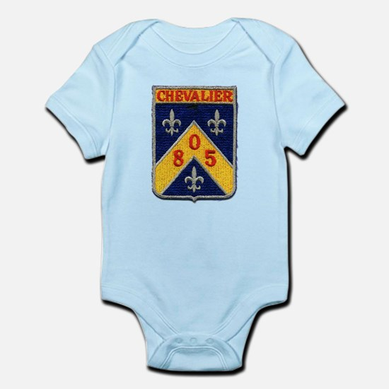 USS CHEVALIER Infant Creeper