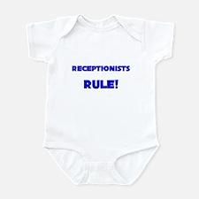 Receptionists Rule! Infant Bodysuit